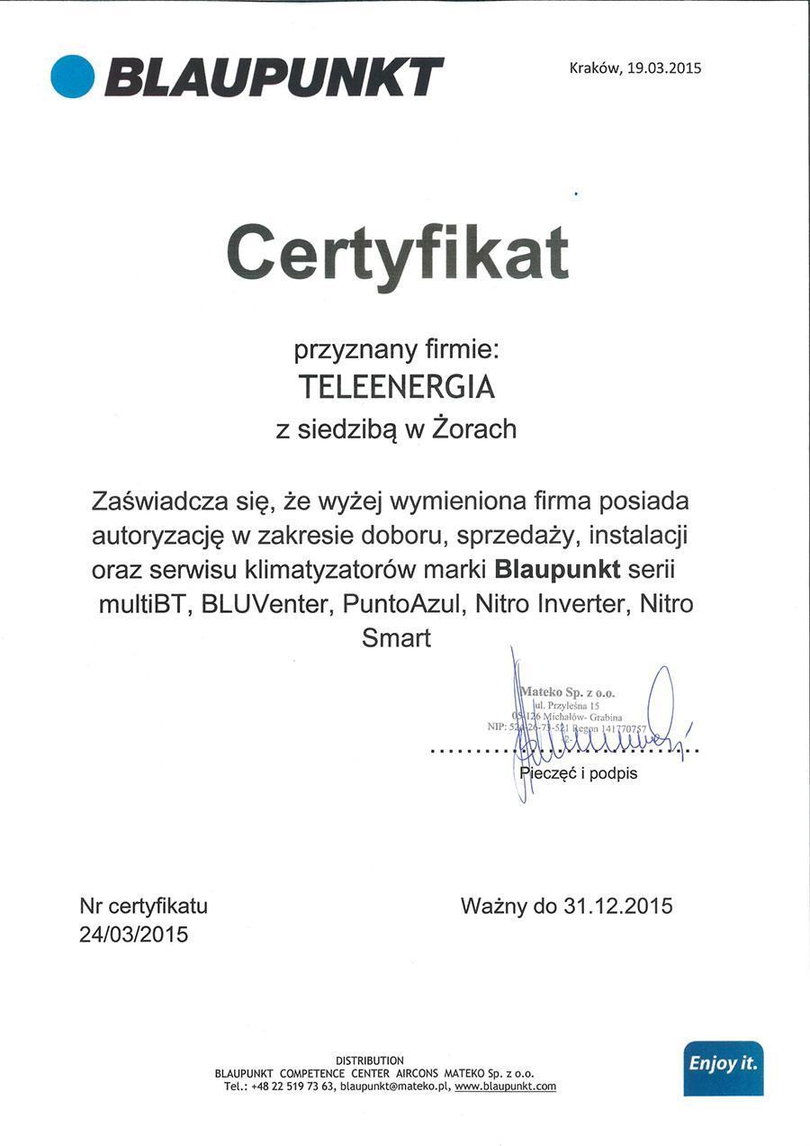 certyfikat-blaupunkt