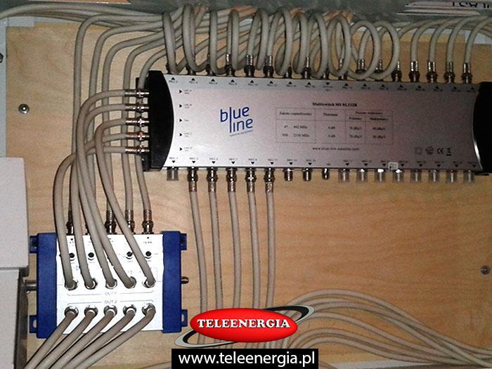 instalacje antenowe - zbiorcze