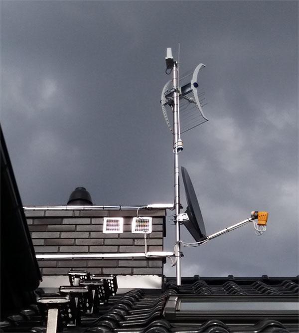 montujemy anteny satelitarne