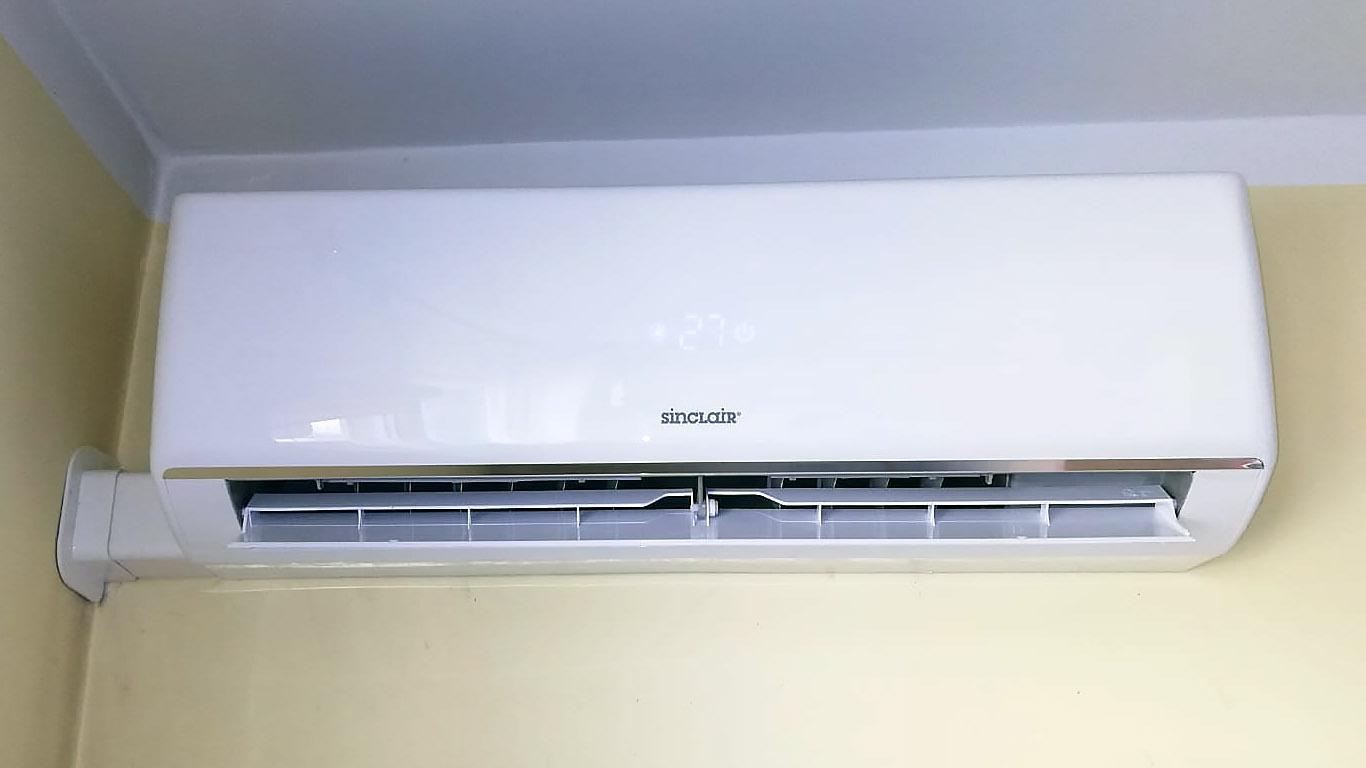 Klimatyzator wewnątrz mieszkania